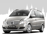 Rental of vans and minibuses with driver